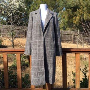 Forever 21 contemporary plaid coat